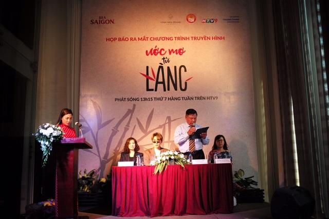Ông Dương Văn Đóa phát biểu tại Họp báo ra mắt chương trình diễn ra vào ngày 6/3/2018 vừa qua tại trung tâm hội nghị White Palace - TP Hồ Chí Minh.