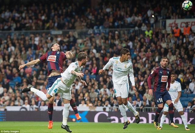 Eibar hứa hẹn là đối thủ không hề dễ chơi với Real Madrid