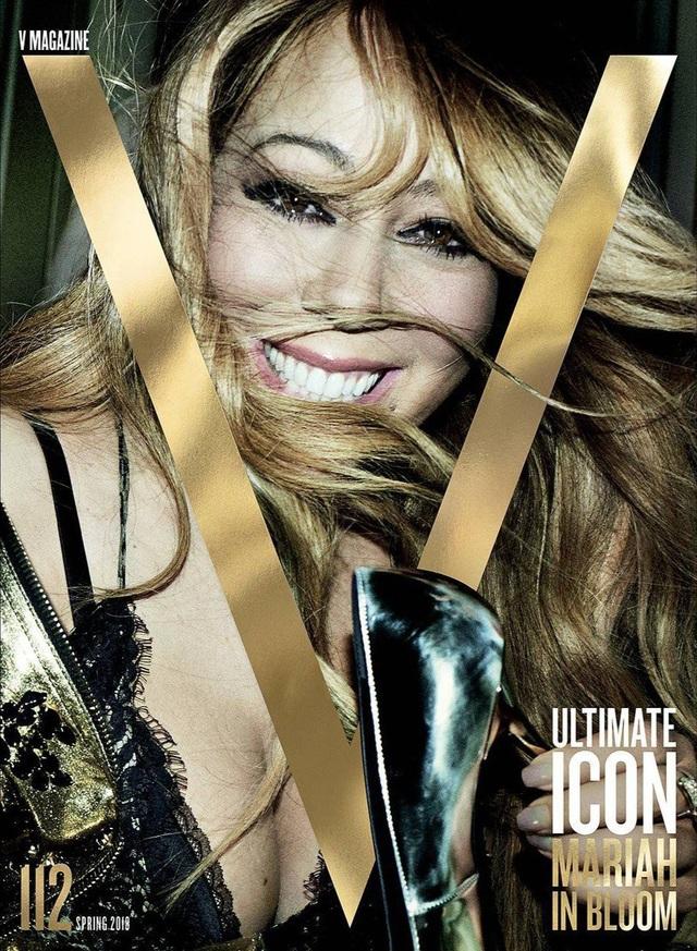 Mariah Carey xuất hiện với hình ảnh hoàn hảo trên tạp chí V số mới nhất