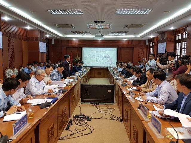 Bộ GTVT làm việc với tỉnh Quảng Nam về kết cấu hạ tầng, cầu cảng, sân bay…
