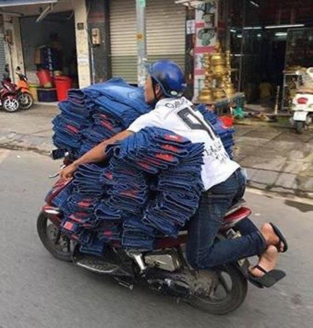 Lại một shipper phi thường nữa đến từ Việt Nam.