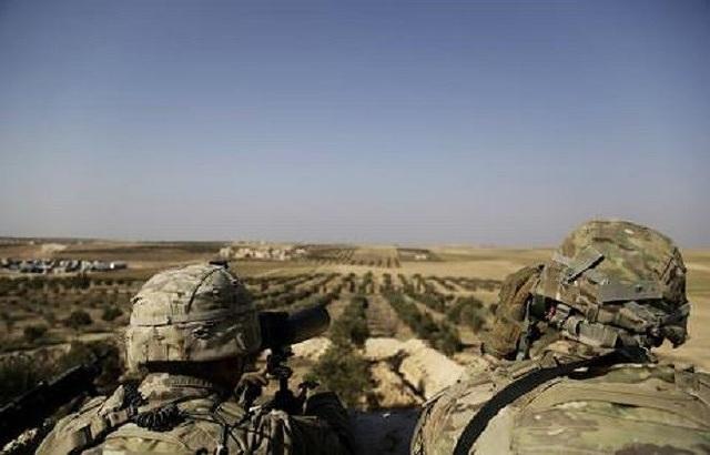 Quân Mỹ ở Syria