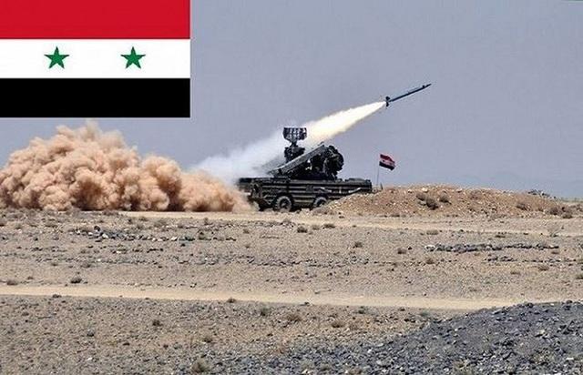 Lực lượng phòng không Syria