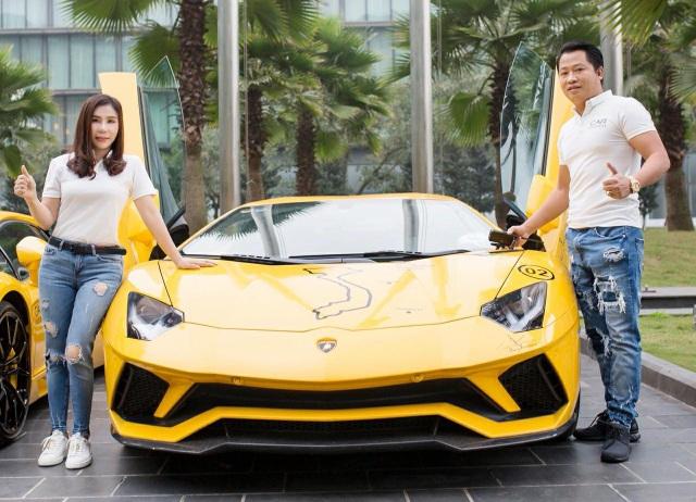 Doanh nhân Hoàng Kim Khánh và vợ - doanh nhân Phan Thị Mai