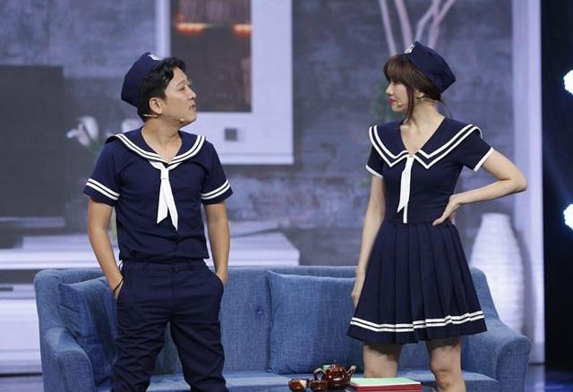 Hari Won và Trường Giang cho rằng giữa vợ và chồng không nên có bất kỳ sự giấu diếm nào.