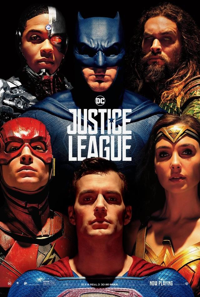 """12. """"Justice League"""" (Liên minh Công lý) - 635,9 triệu USD"""
