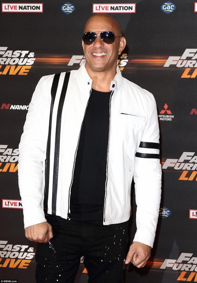 Nam diễn viên Vin Diesel (vai Dominic Toretto).