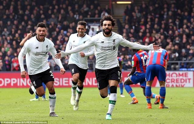 Mohamed Salah cân bằng kỷ lục của Van Persie và C.Ronaldo