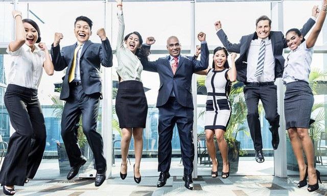 Sự hứng khởi của nhân viên giúp tăng năng suất lao động. Ảnh minh họa.