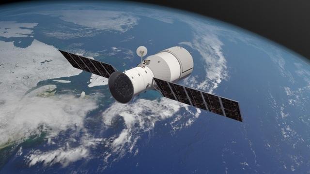 Trạm vũ trụ Thiên Cung-1 của Trung Quốc đang lao về Trái Đất. (Ảnh minh họa: SCMP)
