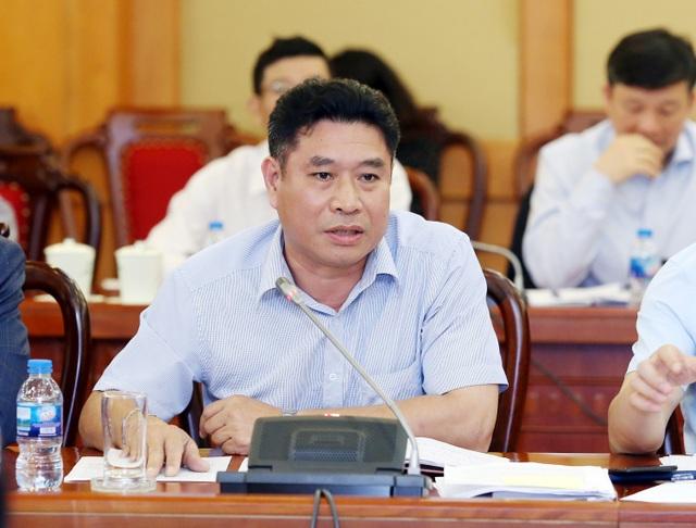 ông Chương Hồng Dương, Chánh Thanh tra Bộ KH&CN thông tin tại buổi họp báo thường kỳ chiều 10/4.