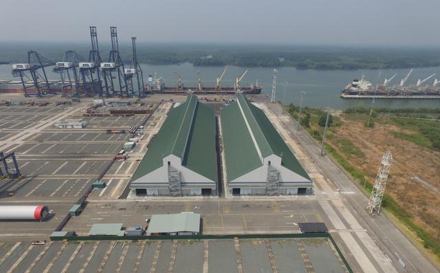 Hình ảnh dự án đầu tư đầu tiên của Cargill vào cơ sở nhà kho chứa ngũ cốc và hạt có dầu tại khu vực miền Nam Việt Nam
