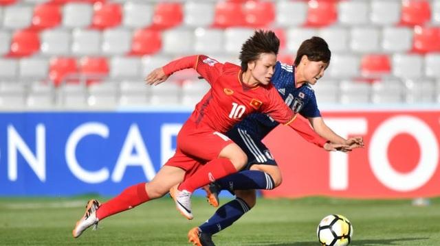 Đội tuyển nữ Việt Nam quyết không trắng tay ở trận đấu thứ 2 của mình tại giải châu Á