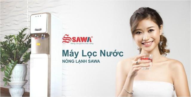 Dùng máy lọc nước Sawa không những giúp gia đình bạn yên tâm về sức khỏe mà còn tiết kiệm khoản tiền không nhỏ hằng tháng