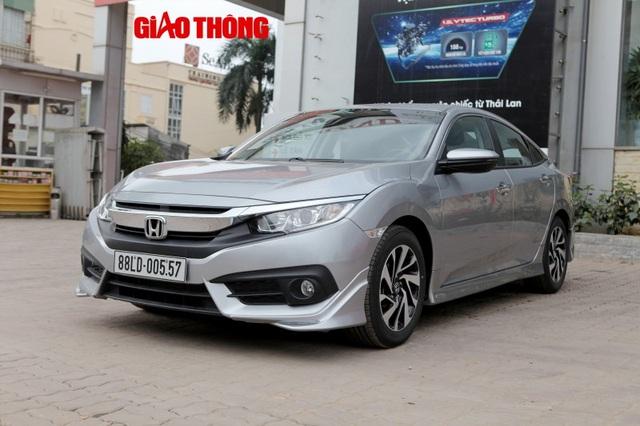 Trong tháng 3/2018, doanh số Honda Civic tại Việt Nam dừng lại ở con số 0