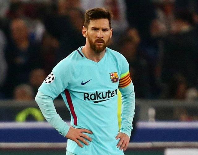 Messi thất thần khi chứng kiến Barcelona thua sốc trước AS Roma - 9