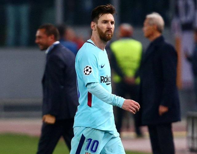 Messi thất thần khi chứng kiến Barcelona thua sốc trước AS Roma - 7