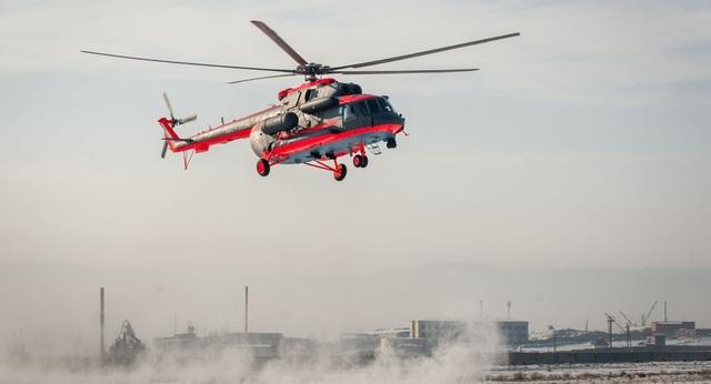 Trực thăng Mi-8 (Ảnh minh họa: Sputnik)