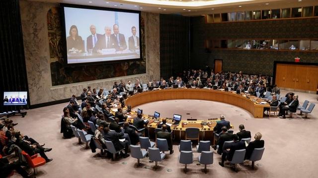 Hội đồng Bảo an hoãn bỏ phiếu để chờ tham vấn sau khi không thể thông qua dự thảo nghị quyết về Syria. (Ảnh minh họa: Reuters)