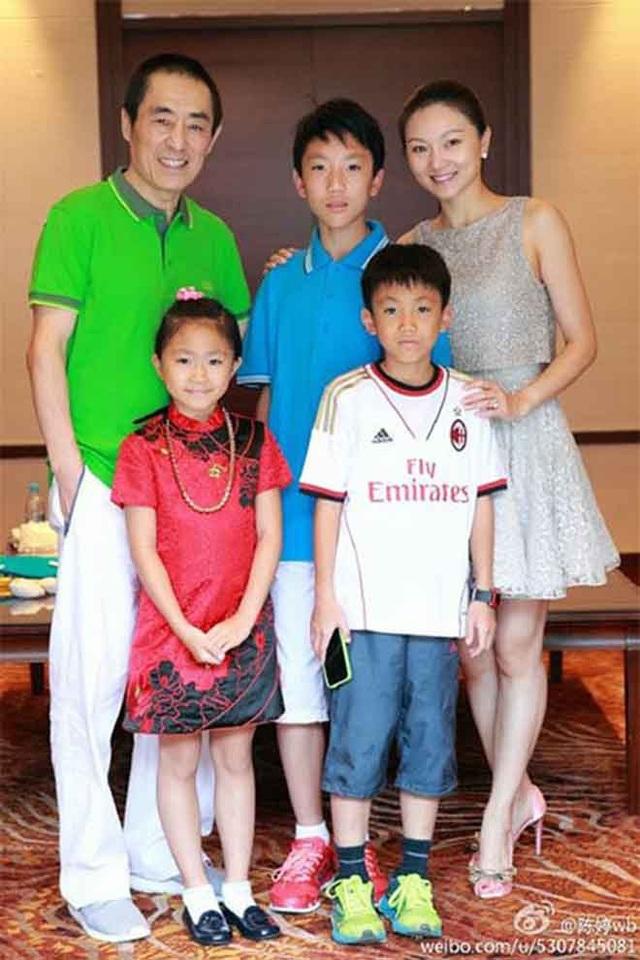 Cuộc hôn nhân của Trương Nghệ Mưu và Trần Đình được cho là chỉ mang tính chất trao đổi bởi Trương Nghệ Mưu muốn có con nối dõi.