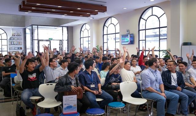 SV ngành CNTT năng động, tự tin trong các hoạt động thực tế tại doanh nghiệp.