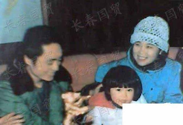 Trương Nghệ Mưu, Tiêu Hoa và con gái Trương Mạt.