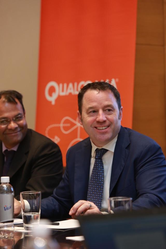 ông Jim Cathey, Phó Chủ tịch cấp cao và Chủ tịch khu vực Châu Á Thái Bình Dương & Ấn Độ của Qualcomm Technologies.