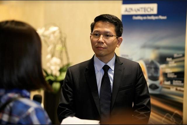 Ông Đỗ Đức Hậu - Tổng Giám đốc Advantech Việt Nam cho biết, mục tiêu cao nhất Advantech Việt Nam đặt ra là giúp cho sức cạnh tranh của các doanh nghiệp Việt Nam được nâng cao.