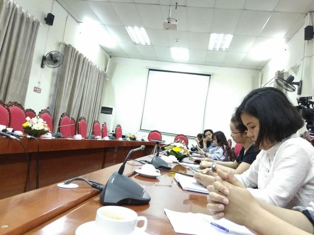 Một số câu hỏi của phóng viên tại buổi gặp mặt báo chí chiều 12/4 tại Sở GD&ĐT Hà Nội được cho biết sẽ tìm hiểu thêm