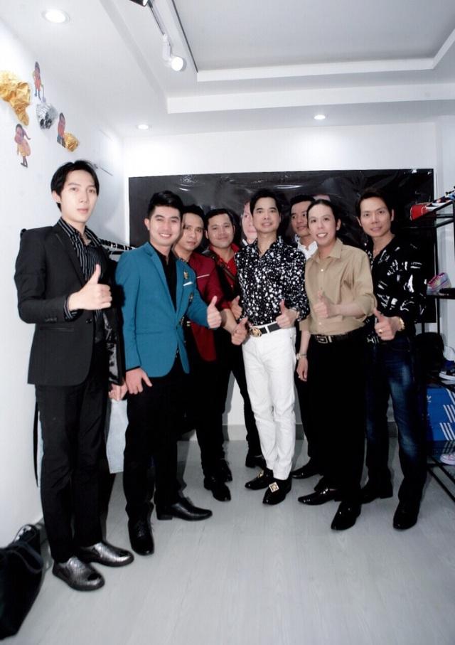 Ngọc Sơn đến chúc mừng học trò Lâm Ngọc Huỳnh và Sinti Quang Ngọc - 5