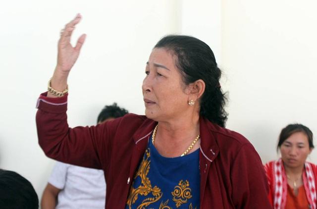 Bà Lê Thị Sen vẫn giữ ý kiến là để nhà phân loại cá được dùng chung.