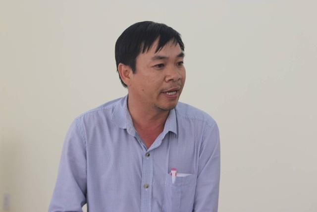 Ông Hà Viên thừa nhận việc quản lý, điều hành của mình tại Cảng cá Phú Lạc còn nhiều thiếu sót