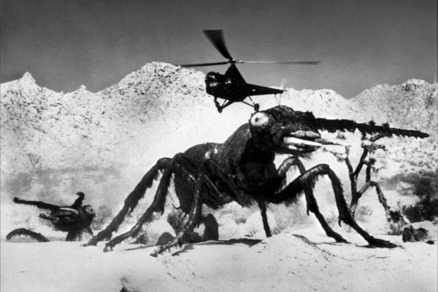 Kiến khổng lồ cũng đã xuất hiện trên màn ảnh từ năm 1954
