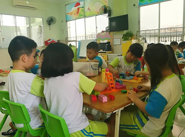 Trường mầm non 30/4 được biết đến như là ngôi trường dành cho con cán bộ, viên chức ở TPHCM