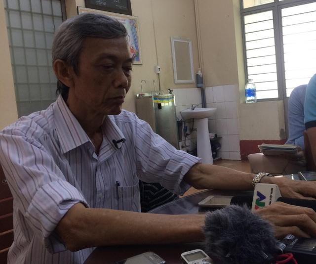 Thầy Lê Trọng Tín, hiệu trưởng Trường THPT tư thục Nguyễn Khuyến, TPHCM.