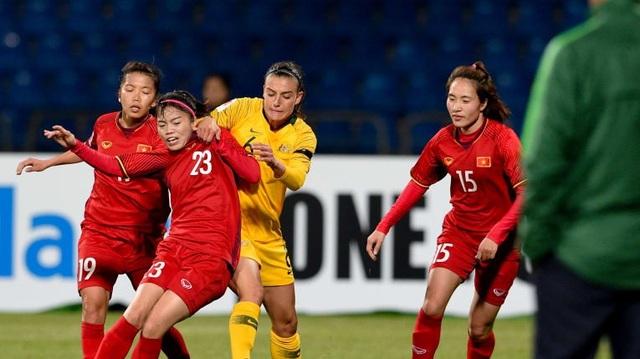 Đỗi tuyển bóng đá nữ Việt Nam sẽ cố gắng giành điểm trong trận cuối cùng vòng bảng
