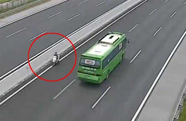 Đã xác định được người phụ nữ đi ngược chiều trên cao tốc Hà Nội - Hải Phòng - 1