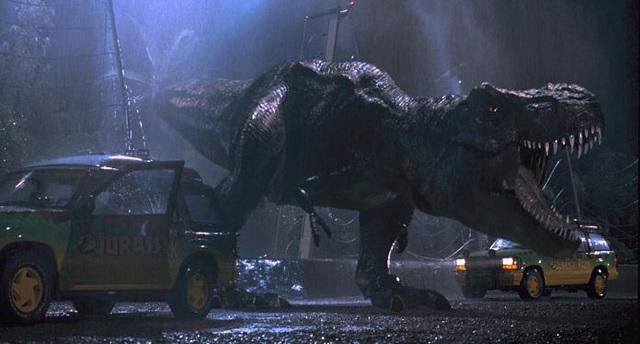 Sinh vật khổng lồ cổ xưa tái sinh trong Jurassic Park (1993)