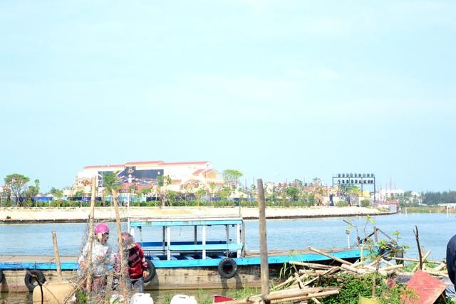 Dự án Gami Hội An được xây dựng án ngữ giữa dòng sông Hoài thơ mộng
