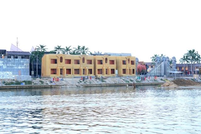 Nhiều công trình đã hoàn thiện nhưng ngày 20/3/2018, Sở Xây dựng Quảng Nam mới cấp phép xây dựng