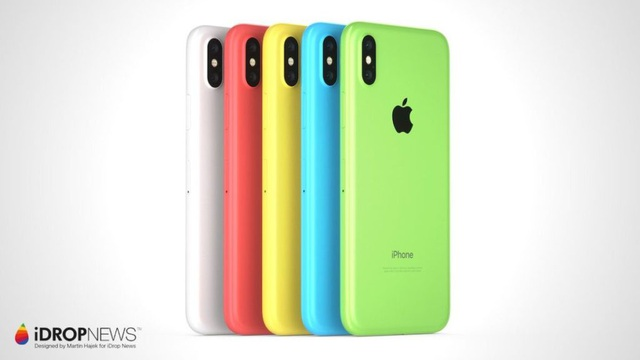 iPhone Xc với vỏ nhựa vô cùng trẻ trung và bắt mắt.