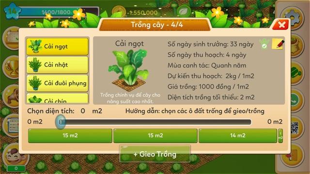 Hàng ngày, người trồng chỉ cần lướt smarphone chọn loại rau cần trồng và các thao tác cần thực hiện, hệ thống sẽ gửi về và lập tức có người thực hiện