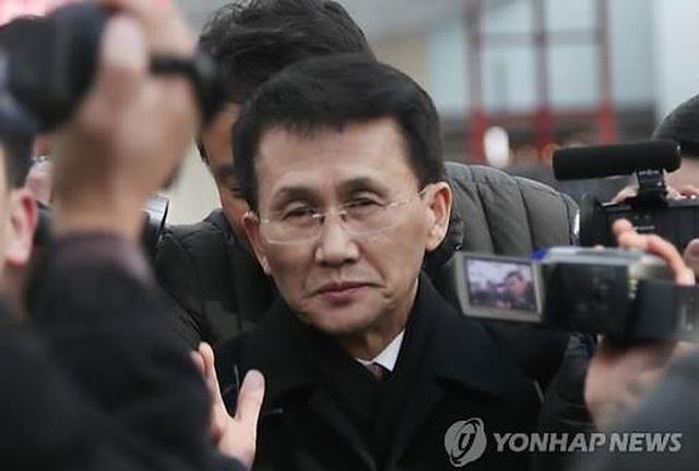 Quyền Vụ trưởng Vụ Bắc Mỹ thuộc Bộ Ngoại giao Triều Tiên Choe Kang-il, người tham gia cuộc họp với Hàn Quốc và Mỹ tại Phần Lan hồi tháng trước. (Ảnh: Yonhap)