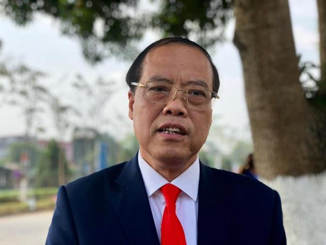 NGND.GS.TS. Trần Văn Chứ - Hiêu trưởng trường ĐH Lâm Nghiệp