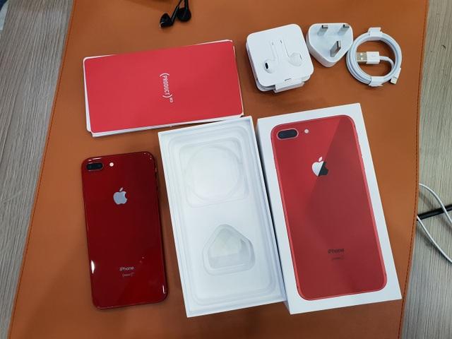 Iphone 8 Plus Màu đỏ đầu Tiên Về Việt Nam Giá 28 Triệu đồng