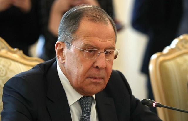 Ngoại trưởng Nga Sergey Lavrov (Ảnh: Tass)