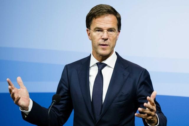 Thủ tướng Hà Lan Mark Rutte (Ảnh: Reuters)