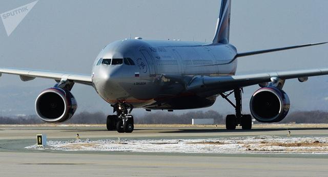 Một máy bay của hãng hàng không Nga Aeroflot (Ảnh: Sputnik)