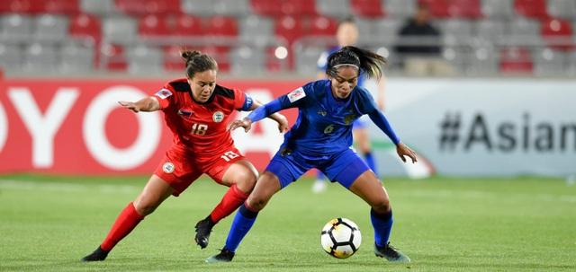 Đội bóng đá nữ Thái Lan mạnh hơn hẳn so với đối thủ