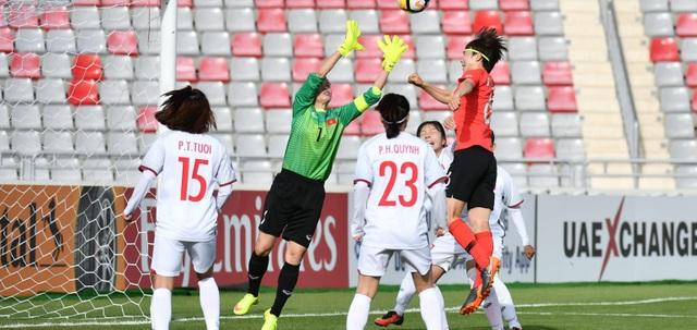 Đội tuyển nữ Việt Nam kết thúc hành trình của mình với chuỗi 3 trận toàn thua, tổng hiệu số bàn thắng bại là 0-16
